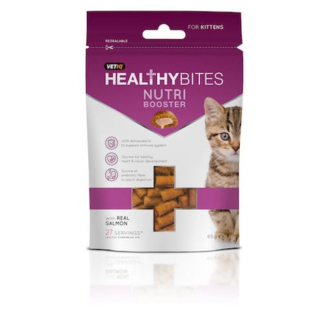 VetIQ Healthy Bites Cat Treats - Kitten Nutri Booster