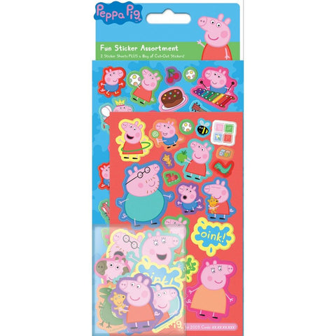 Peppa Pig Great Value Fun Sticker Assortment