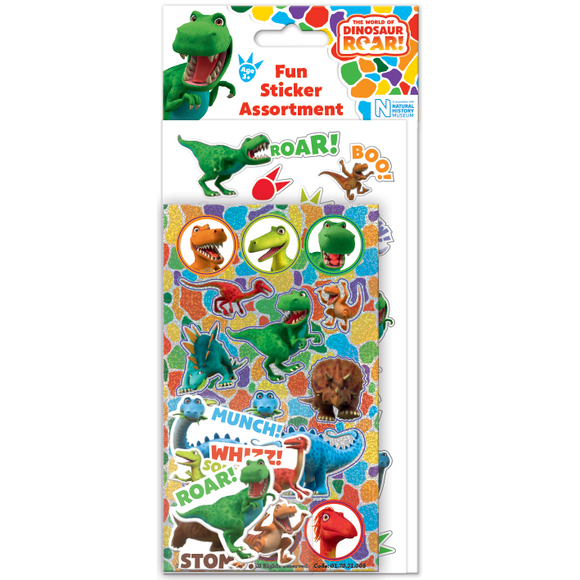 Dinosaur Roar! Great Value Fun Sticker Assortment