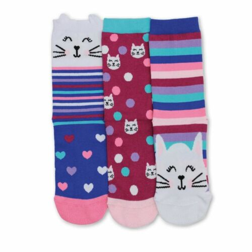 Kitty Oddsocks, Pack of 3, Childrens