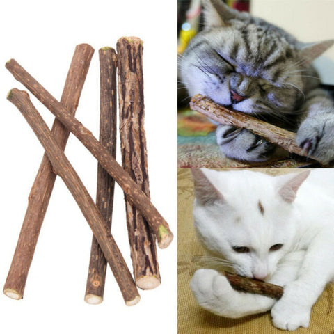 Silvervine Matatabi Chew Sticks Cat Toy, 2 - 50 Pcs