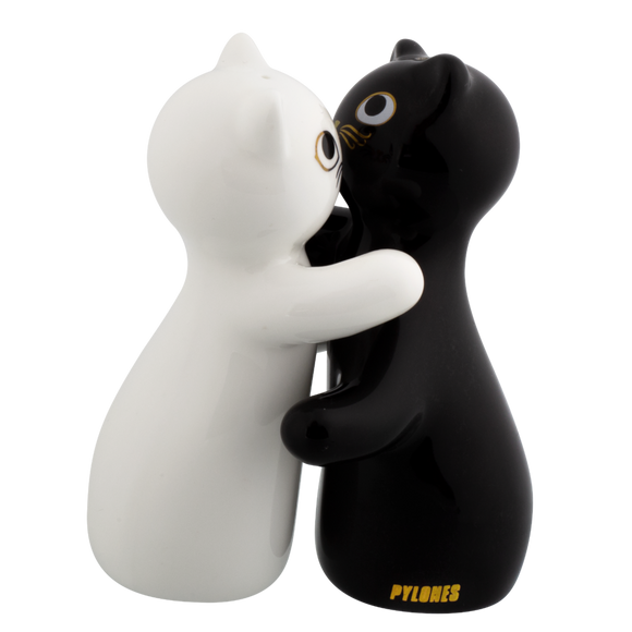 Hugcats Salt & Pepper Shakers Condiment Set