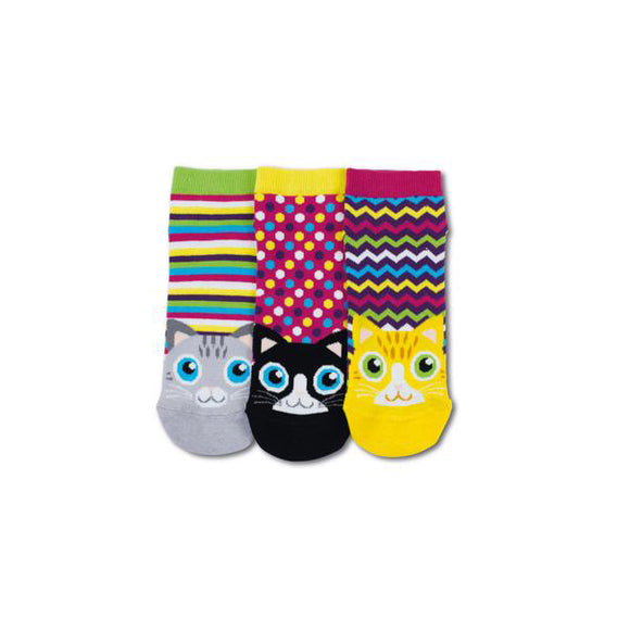 Ladies Oddsocks, Pack 3, Liner Socks