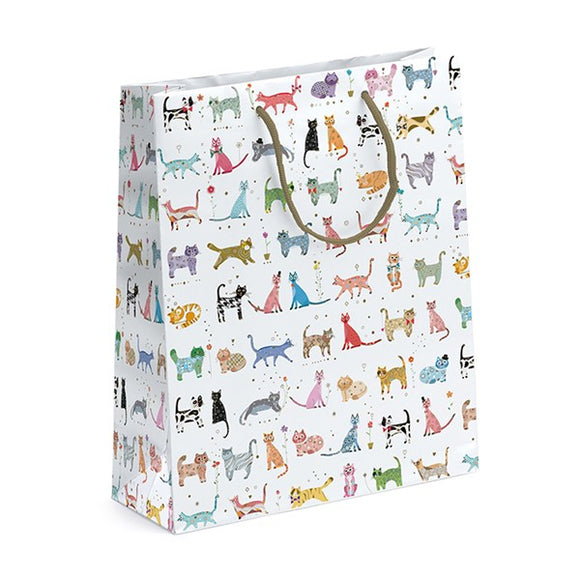Turnowsky Cat Collection - Medium Gift Bag