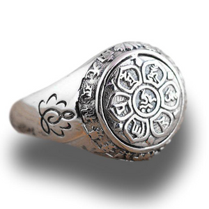 Six Words Mantra Ring in 925 Sterling Silver - LifeIsNowEmporium