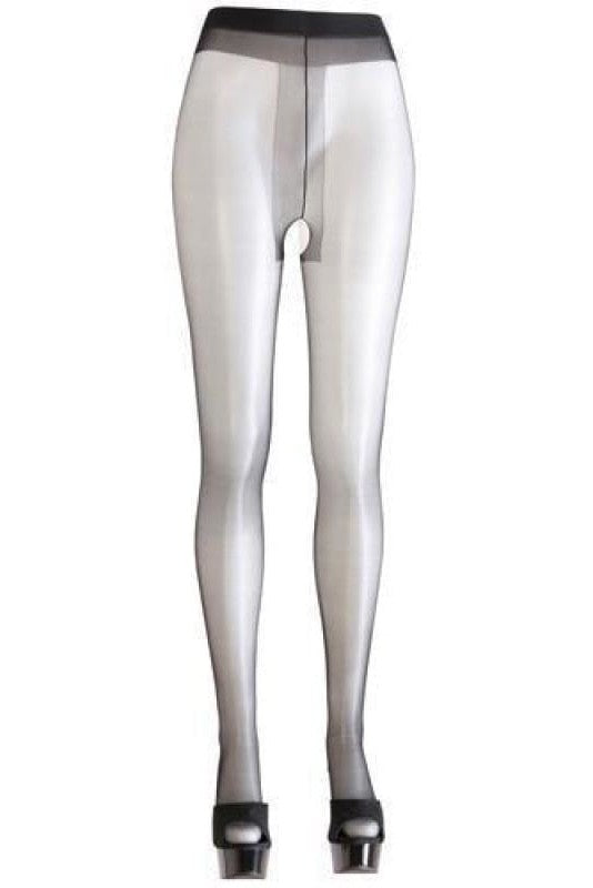 Tights Ouvert - M / Black - 2