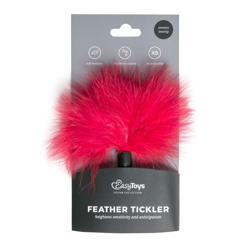 Small Feather Tick - Red - Red