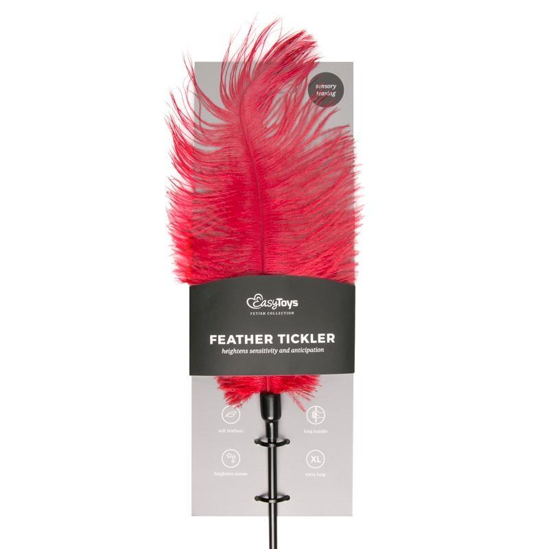 Red Feather Tick - Red