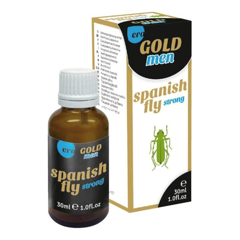 Spanish Fly Strong Men Tipat - 30 Ml - Läpinäkyvä