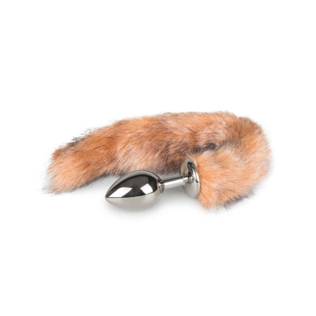 Easytoys Fetish Collection Fox Tail Plug 8 cm - Anustappi Hännällä 1