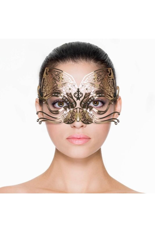 Cat Mask - Gold - One Size / Gold