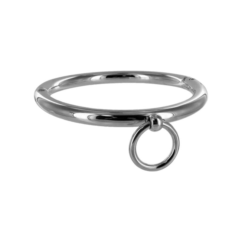 Ladies Rolled Steel Collar With Ring Hopea