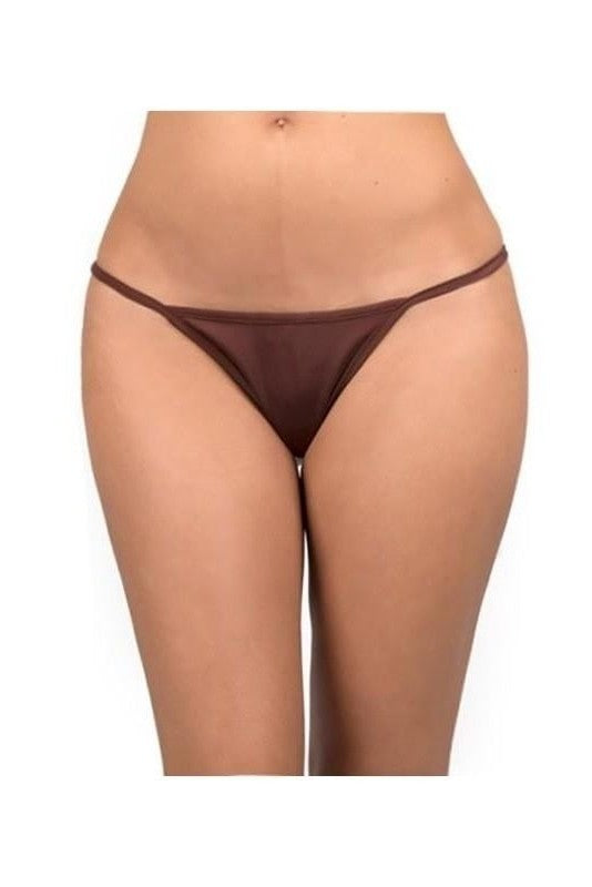 Brown Thong - One Size / Brown