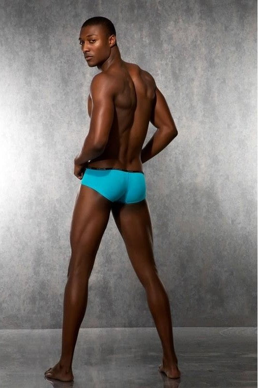 Mens Boxer - Turquoise - 2