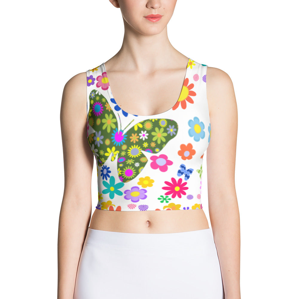 My Butterfly Crop Top