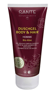 Shampooing gel douche Homme 200 ml
