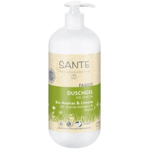 Gel douche ananas bio & citron 200 ml