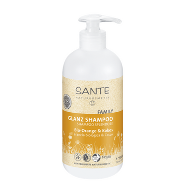 Shampooing brillance orange bio & coco