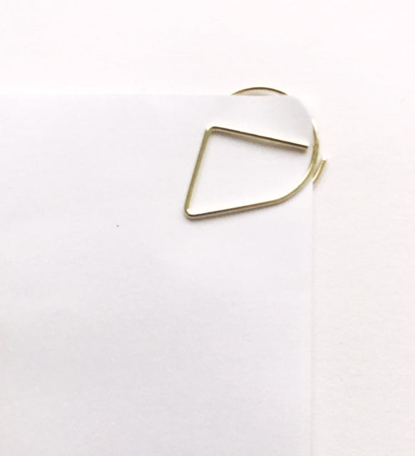 Tear Drop Paper Clip