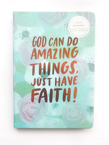 God Can Do Amazing Things, Just Have Faith - Guided Journal