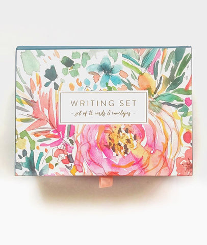 Writing Set - Floral