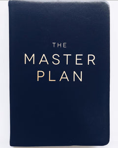 The Master Plan - Notebook/Journal