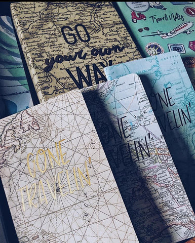 Gone Travellin - Assorted Mini Talk Journals