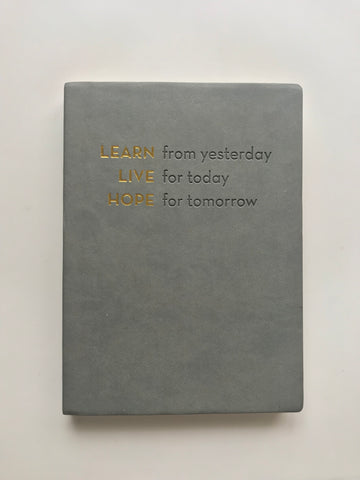 Learn, Live, Hope - Journal