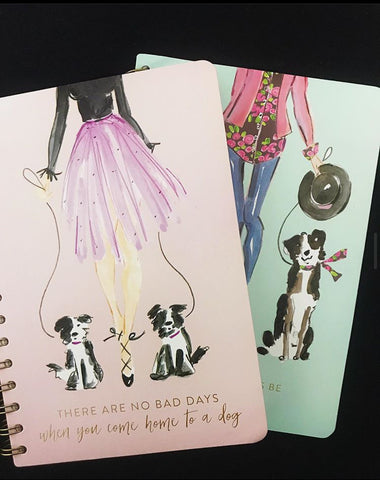 Assorted Dog Journals - Notebook/Journal