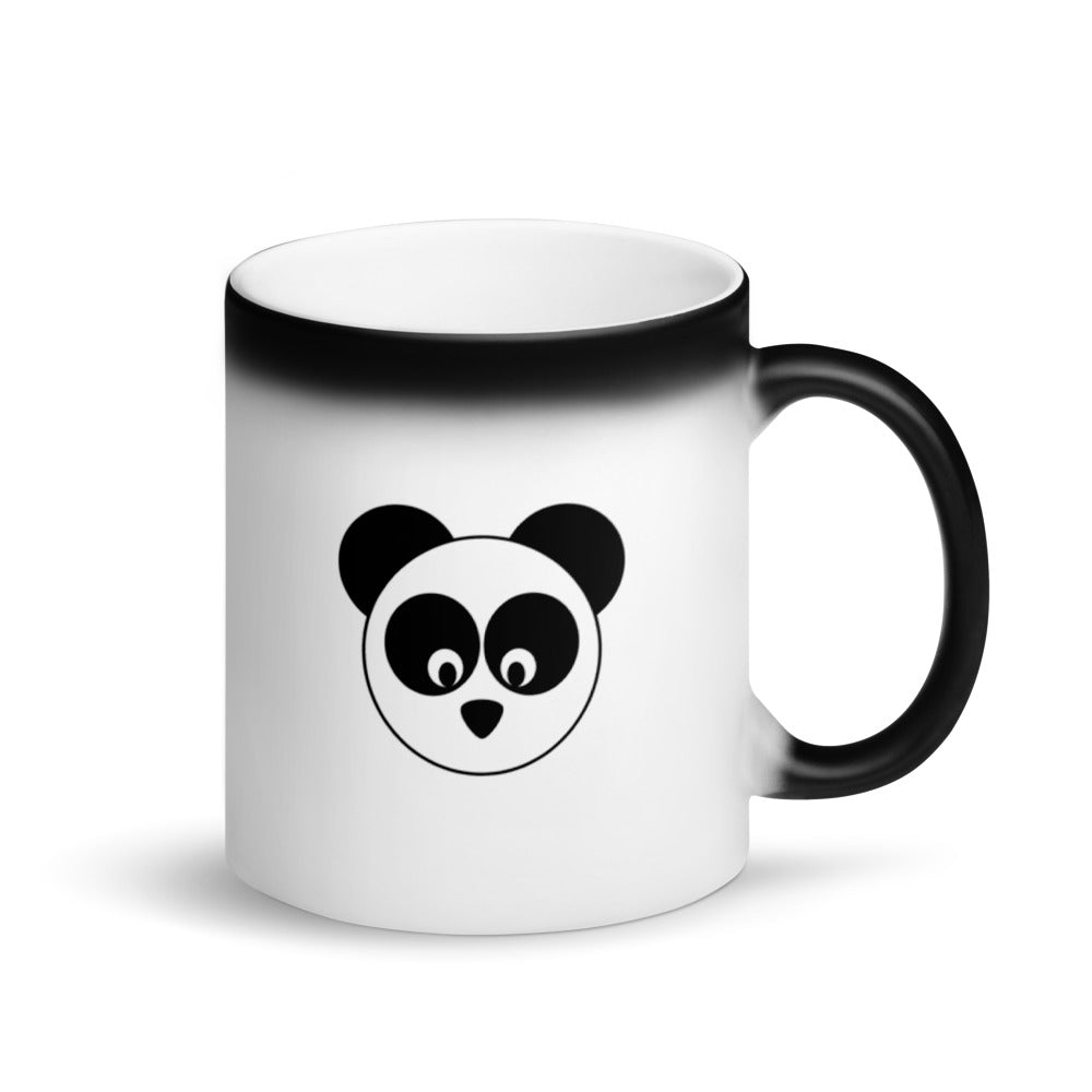 Gorgeous Dane & Company™ Panda Matte Black Magic Mug