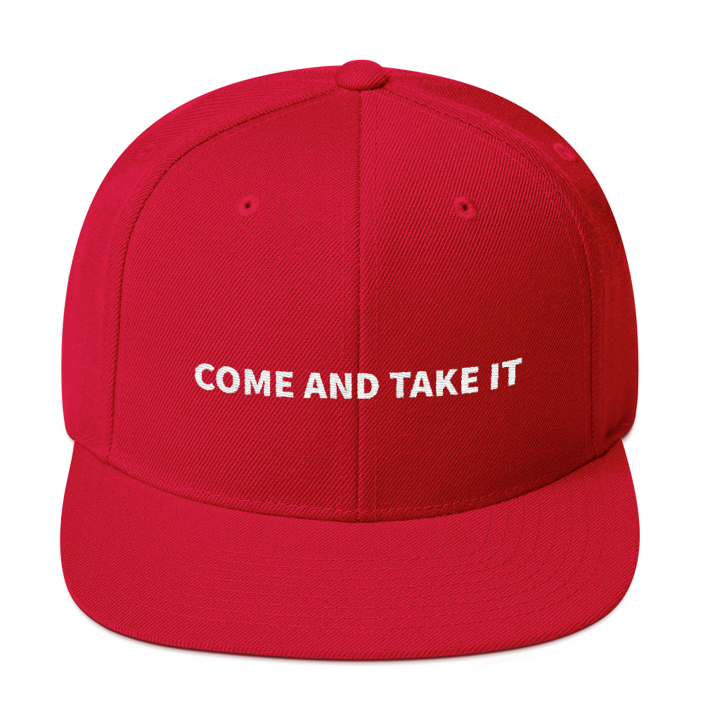 Come And Take It MAGA hat