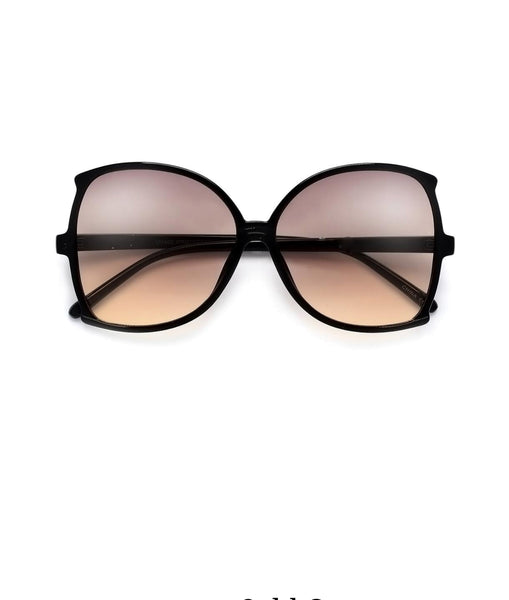 """Vicki"" Oversize 62mm Women's Sophisicated Glam Butterfly Sunglasses"