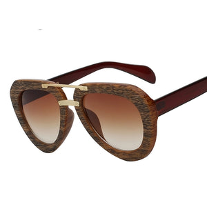 """Time"" Wooden Aviator"