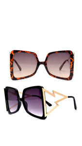 """BIZNESS"" Chic, Oversized, Square shaped sunnies"