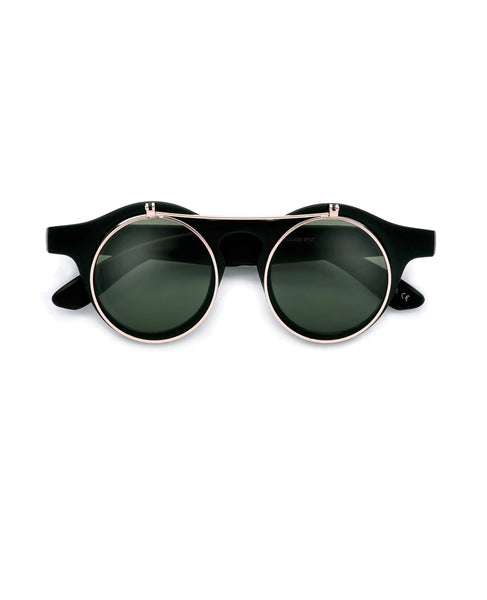 """Flip"" LENNON INSPIRED ROUND FLIP-UP SUNGLASSES / GLASSES"