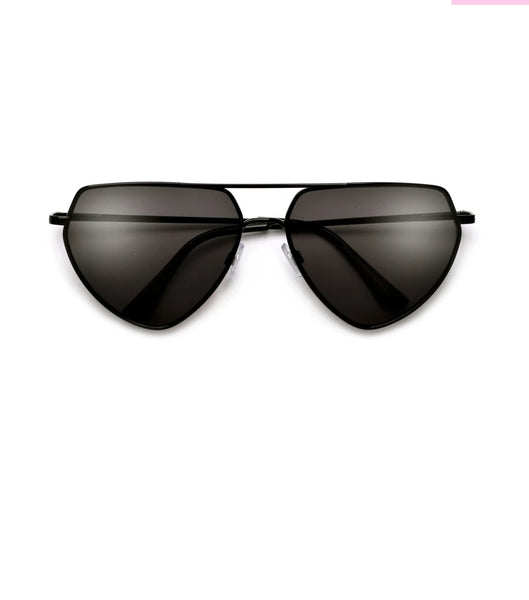 """Jay"" ANGULAR FLAT TOP AVIATOR SUNNIES"