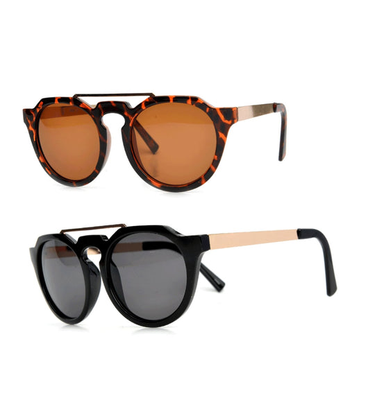 """Shift""  KEYHOLE BRIDGE SUNGLASSES"