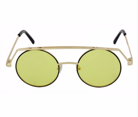 """Zodi"" Round Brow bar stylish sunnies"