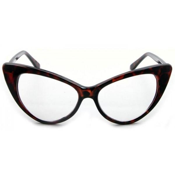 """Keisha"" Classic Cat Eye Fashion Frames"