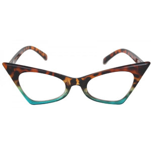 """Blink-Ombre 2"" Vintage High Pointed Tip Cat Eye Fashion Frames"