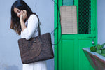 Sabai bag - brown laptop bag - Kaisori