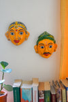 Kaisori Yellow Cheriyal Masks - Kaisori