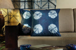 Kaisori Indigo Cushion cover - Oval design - Kaisori