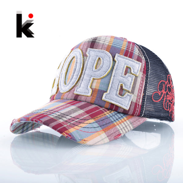 HOPE. 5 Panel Hip Hop Baseball Cap