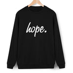 Hope. Women's Sweatshirt. Long sleeve O-neck