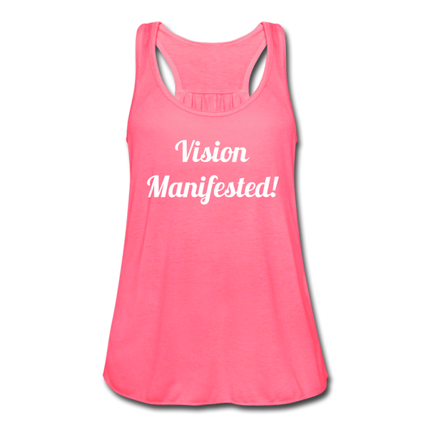 Vision Manifested Tank - neon pink