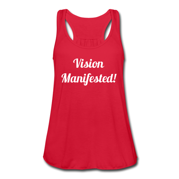 Vision Manifested Tank - red
