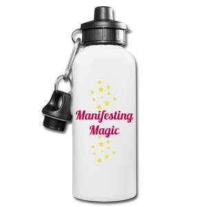 Manifest Water Bottle - white