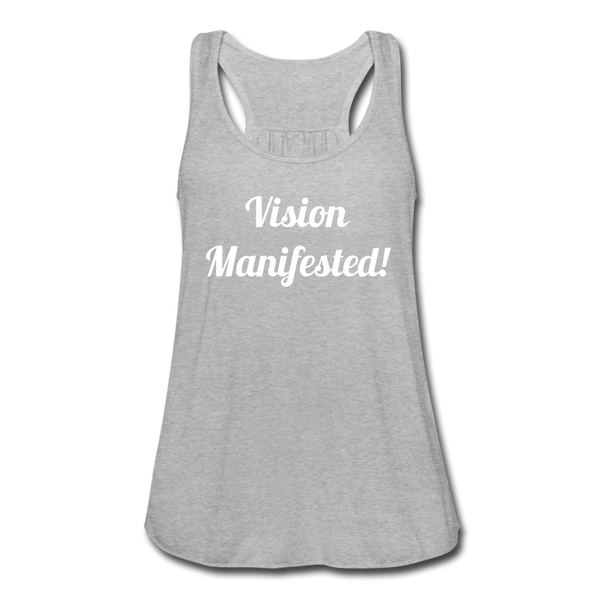 Vision Manifested Tank - heather gray