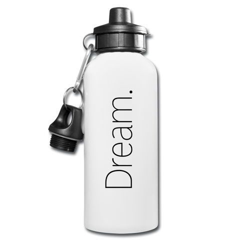 Dream Water Bottle - white
